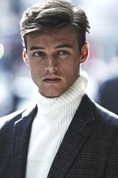 a huge amount of men. Male Model Face, Asian Male Model, Blonde Male Models, Boy Models, Ivy League Style, Portraits, Mens Fashion Suits, Men's Grooming, Haircuts For Men