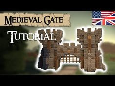 Minecraft Castle Tutorial: Walls (Part 1) by Madnes64 - YouTube