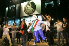 Guess what piñata was all the rage this posada season?  The Peñata!  You're a smash, Enrique Peña Nieto!