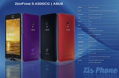 ZenFone 5 A500CG | ASUS | Zis Phone