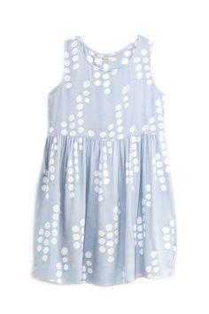 Bubble Print Babydoll Dress