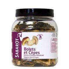 Bolets et cèpes séchés 250g Sabarot
