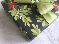 Mistletoe Gift Wrap, Holiday Wrapping Paper