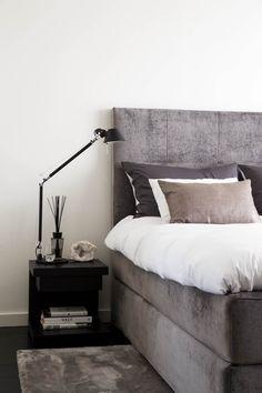 Dream Bedroom, Home Bedroom, Bedroom Inspo, Master Bedroom, Bedroom Decor, Bedrooms, Black Bedroom Design, Feminine Bedroom, Shabby Chic Interiors