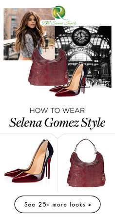"""Без названия #37"" by kassya27 on Polyvore featuring Christian Louboutin and VIcenza"