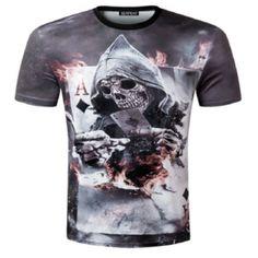 Skull Poker T-Shirt