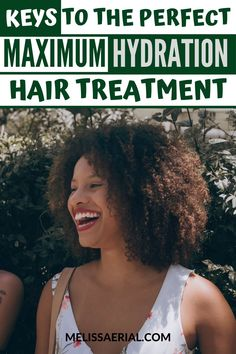 Here's a hair treatment of the maximum hydration method to use on your hair that will give it the moisture you need. #hairmoisture How To Grow Your Hair Faster, How To Grow Natural Hair, Natural Hair Care, Natural Hair Styles, Natural Hair Growth Remedies, Natural Hair Treatments, Natural Hair Regimen, Hair Health And Beauty, Hair Porosity