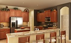 Amazing kitchen in the Everything's Inlcuded Riviera Grande model!