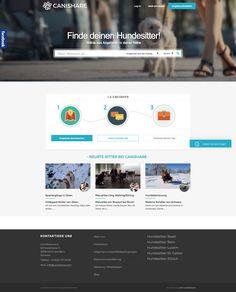 """""""Mullti-sided Platform"""": Wenn ein Portal Hundehalter und Hundesitter zusammenbringt!  #webagentur #webdesign #bern"""