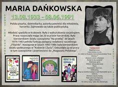 Maria Dańkowska (13.08.1933-08.06.1991)
