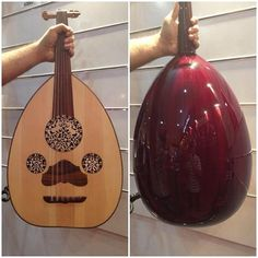 The Oud: Arabic lute-like music instrument, considered an ancestor of the guitar. It is still handcrafted today in the Levant and North Africa.