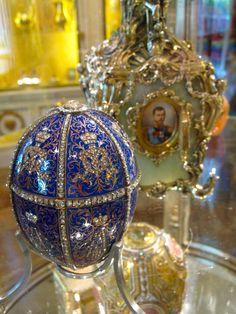 Fabergé Twelve Monogram Egg