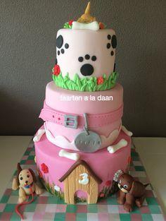 7 Best Puppy Pals Images Fondant Cakes Bakken Birthday Cakes
