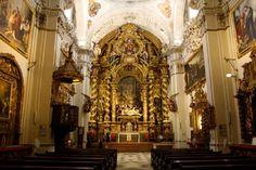 Iglesia de la Caridad  El Hospital de la Caridad de Sevilla, sede de la Hermandad del mismo nombre, constituye un conjunto arquitectónico y artístico cumbre del arte barroco español.