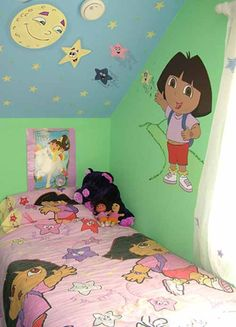 dora bedroom decorations | rooms decorating ideas: Dora The Explorer Bedroom Decor