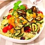 Cous Cous con verdure grigliate ♥