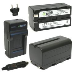 Wasabi Power Battery (2-Pack) and Charger for Sony NP-F730, NP-F750, NP-F760, NP-F770 and Sony CCD-TRV16, CCD-TRV201, CCD-TRV215, DCR-TRV110, DCR-TRV120, HXR-NX5U, HDR-AX2000, HDR-FX1000, HDR-FX7, HVR-V1U, HVR-Z7U, HVR-Z5U Wasabi Power http://www.amazon.com/dp/B00FPZY0BK/ref=cm_sw_r_pi_dp_shRjub0G69A1V