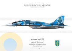 """MiG-29S """"Fulcrum C"""" Ukraina JP-748"""