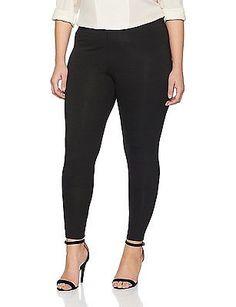 24, Black (Black), Dorothy Perkins Curve Women's Full Length Leggings