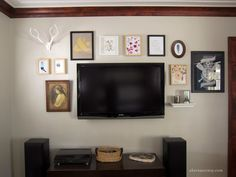 Home How-To: TV Gallery Wall