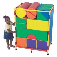 Vinyl Covered Module Soft Blocks Set A Play Space For