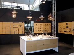 Architectural hardware, lighting & sanitary fittings, made by Lerou. Lauretum In Style 2012.