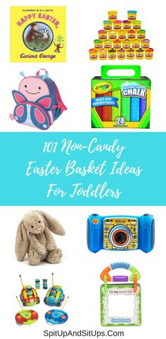 Cool easter basket alternatives every kid will love kid do and 101 non candy easter basket ideas for toddlers negle Image collections