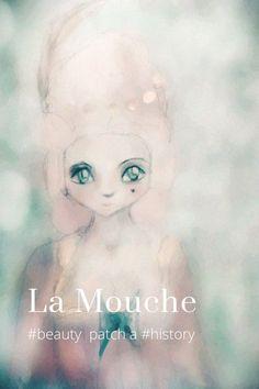 Monica Laipple's (@mmichelle) Story on STELLER beauty spot la mouche patches history fashion