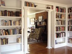 Custom Made Home Library