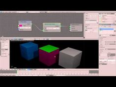 Cycles - Antialiased (Object/Material) ID Pass Index Tutorial (german - with nodes) - YouTube