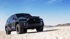 """The most expensive SUV of all time was unveiled and it looks like Batman's collection.Karlmann King,a high-end custom made SUV,a ground""""stealth""""fighter… Maserati, Lamborghini, In Dubai, Audi A4 B5, King Picture, Offroader, Auto Motor Sport, Le Prix, Cars Motorcycles"""