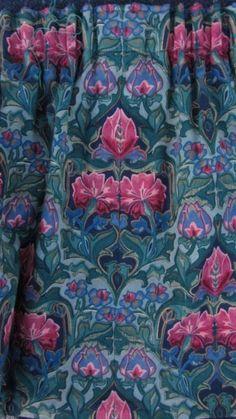 William Morris Style Curtains <3