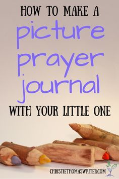Instructions and free printable pictures to help your non-reader learn to pray! via @cthomaswriter