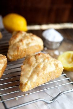 Make lemon cream scones for your mama. It& not something she& forget any time soon, that& for sure! Make lemon cream scones for your mama. Its not something shell forget any time soon, thats for sure! Lemon Desserts, Lemon Recipes, Just Desserts, Baking Recipes, Delicious Desserts, Yummy Food, Scone Recipes, Summer Recipes, Brunch Recipes