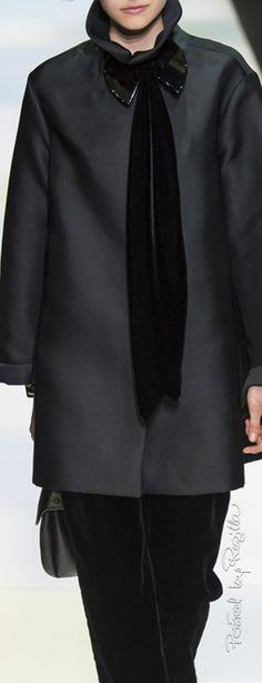 Regilla ⚜ Giorgio Armani, Fall 2016