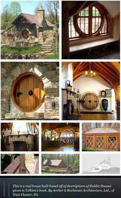 hobbit house, just adorable! I want one.