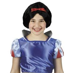 Snow White Dress-Up Child Wig -- Continue to the product at the image link. (This is an affiliate link) #WigsDressUpToys