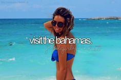 Bucket List: Visit the Bahamas Bucket List For Girls, Best Friend Bucket List, Bucket List Before I Die, Bucket List Life, Life List, Summer Bucket Lists, Carpe Diem, Les Bahamas, Nassau Bahamas
