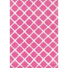 Shop for Microfiber Kit Bubble Gum Pink Rug (5'0 x 7'0). Get free shipping at Overstock.com - Your Online Home Decor Outlet Store! Get 5% in rewards with Club O!