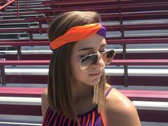Clemson Headwrap | the perfect accessory for the game!