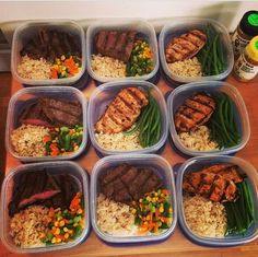10 Healthy Lunch Ideas for Better Quality of Life – fitness meal prep Clean Recipes, Easy Healthy Recipes, Diet Recipes, Healthy Snacks, Healthy Eating, Clean Eating, Lunch Meal Prep, Meal Prep Bowls, Healthy Meal Prep