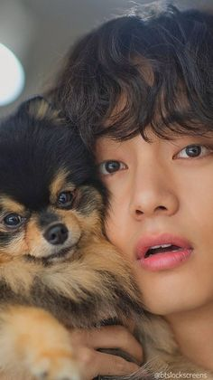 """Dispatch BTS V/ Kim Taehyung/ Tae birthday boyfriend material lockscreen/ wallpaper with Yeontan/ TANNIE."" ""Dispatch BTS V/ Kim Taehyung/ Tae birthday boyfriend material lockscreen/ wallpaper with Yeontan/ TANNIE. Taehyung Selca, Bts Jungkook, Bts Lockscreen, Foto Bts, Namjin, Daegu, Kpop, Les Aliens, V Bts Cute"