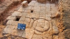 An exceptional 1,300-year-old olive oil factory was unearthed during excavations in the Tel Aviv suburb of Hod Hasharon. The Israel Antiquities Authority's find, dated to the late Byzantine or early Muslim period, narrowly escaped being paved over by a planned roadway. Excavators found a pressing floor for olives, a piping system, trenches, and cisterns that drained and stored the fresh olive oil. Stone weights used for pressing sacks of olives were found beside the ruins.