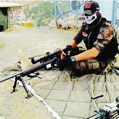 Turkish Police special forces sniper PÖH