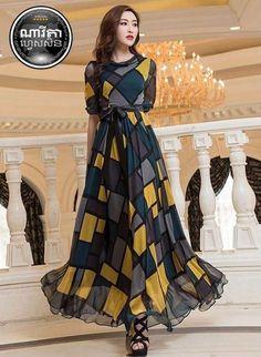Plz call me Stylish Gown, Stylish Dresses For Girls, Elegant Dresses, Beautiful Dresses, Casual Dresses, Fashion Dresses, Indian Gowns, Pakistani Dresses, Long Gown Dress