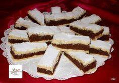 omlós, finom sütemény Tiramisu, Biscuits, Sweet Tooth, French Toast, Recipies, Food And Drink, Dessert Recipes, Cooking Recipes, Chocolate