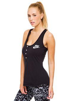 1d8a3e905 Me encanta! Miralo! Musculosa Negra Nike Em Gym Vintage de Nike en Dafiti