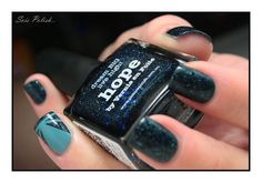 Hope - Picture Polish // Striping tape nails @Elle_Oh_Die