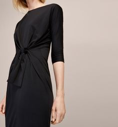 ROBE NŒUD TAILLE