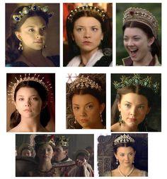 the tudors anne boleyn dresses - Google Search